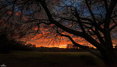 Photograph - Sunset At Elderville by Phil Rispin