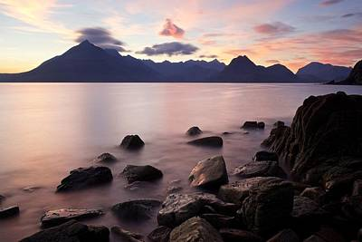 Photograph - Sunset At Elgol by Stephen Taylor