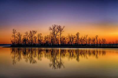 Photograph - Sunset At Ellis Bay Riverlands Migratory Bird Sanctuary 7r2_dsc3959_12202017 by Greg Kluempers