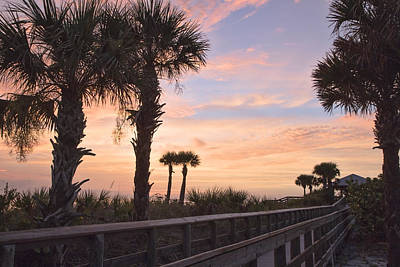 Photograph - Sunset At Englewood Beach by Shari Jardina