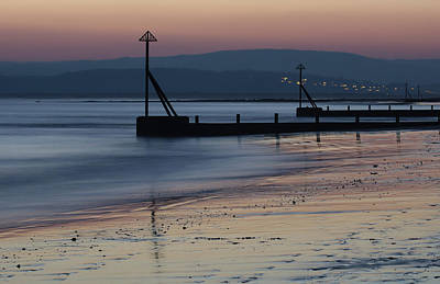 Photograph - Sunset At Exmouth by Pete Hemington