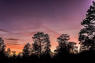 Sunset At Grand Canyon Art Print by Morris Finkelstein
