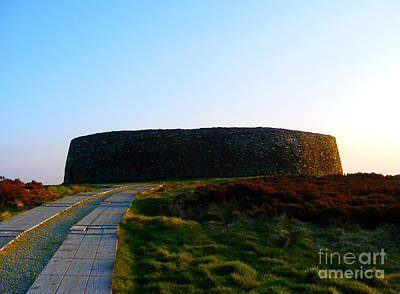 Photograph - Sunset At Grianan Fort by Nina Ficur Feenan