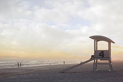 Photograph - Sunset At Gulf Shores by Sennie Pierson