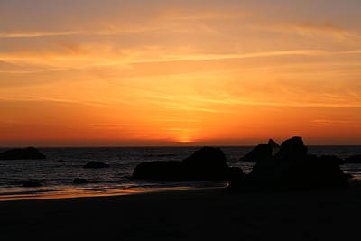 Photograph - Sunset At Harris Beach - 7 by Christy Pooschke