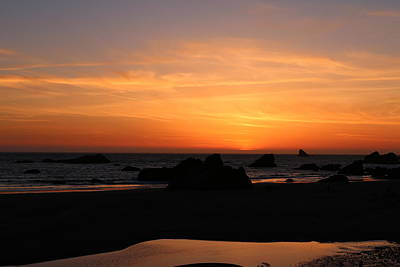 Photograph - Sunset At Harris Beach - 8 by Christy Pooschke