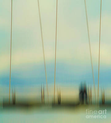 Abstract Movement Photograph - Sunset At Humber Bay Arch Bridge by Emilio Lovisa