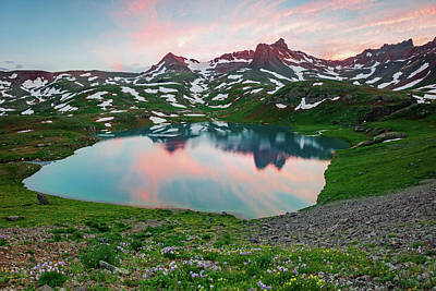 Photograph - Sunset At Ice Lake. by Johnny Adolphson