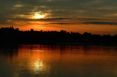 Photograph - Sunset At Jacobson by T F McDonald
