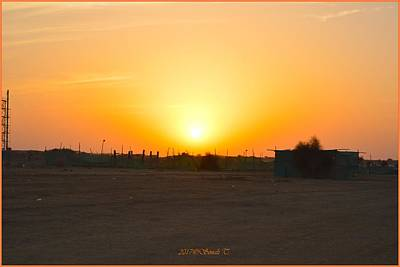 Photograph - Sunset At Jaisalmer by Sonali Gangane