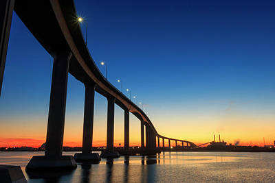 Photograph - Sunset At Jordan Bridge by Travis Rogers