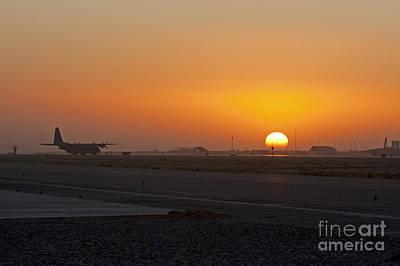 Sunset At Kandahar Art Print by Tim Grams