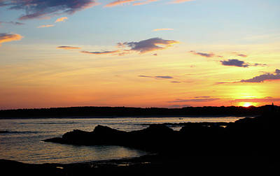Photograph - Sunset At Kettle Cove by Debra Forand