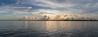 Sunset At Key Largo Art Print