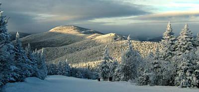 Winter Landscapes Photograph - Sunset At Killington Vermont by Angelo Rolt