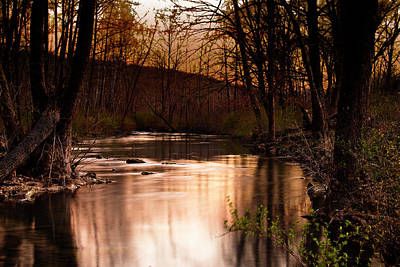 Sunset At King's River Art Print by Tamyra Ayles