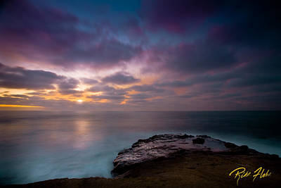 Photograph - Sunset At La Jolla by Rikk Flohr