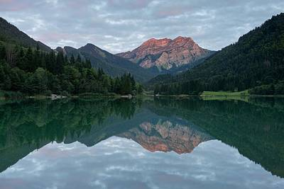 Photograph - Sunset At Lac De Vallon by Stephen Taylor