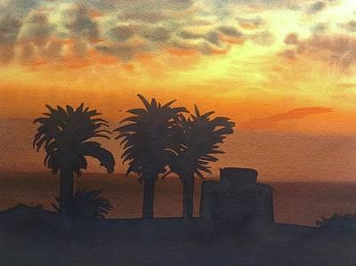 Sunset At Laguna Art Print by John DiMare