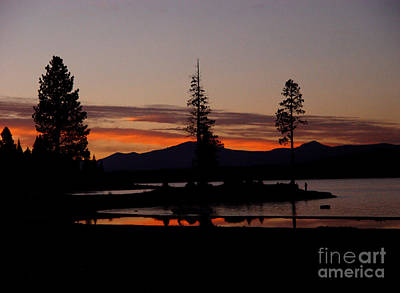 Photograph - Sunset At Lake Almanor 02 by Peter Piatt