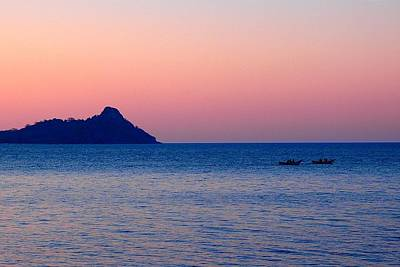 Photograph - Sunset At Lake Malawi 03 by Dora Hathazi Mendes
