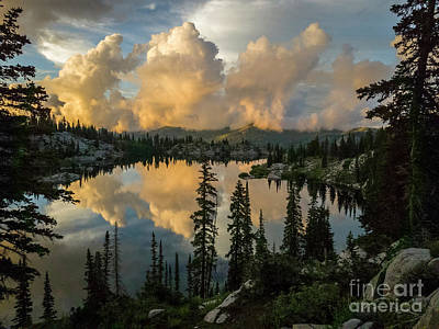 Photograph - Sunset At Lake Mary by Spencer Baugh