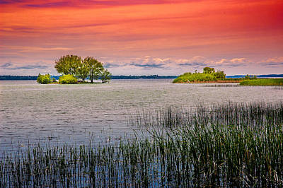 Photograph - Sunset At Lake Simcoe by Patrick Boening
