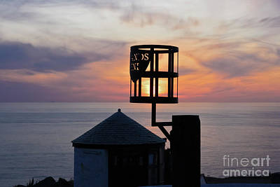 Photograph - Sunset At Lands End Hut by Terri Waters
