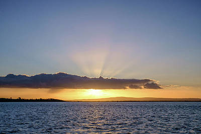 Photograph - Sunset At Lough Derg by Jose Maciel