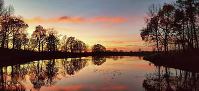 Photograph - Sunset At Mahr Park by Greg Jackson