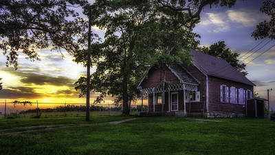 Photograph - Sunset At Melody Lake by Lisa and Norman Hall