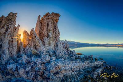 Photograph - Sunset At Mono Lake by Rikk Flohr