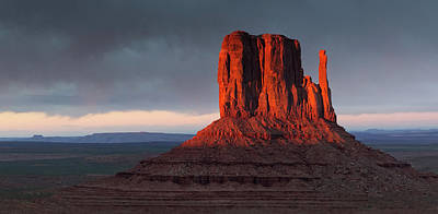 Photograph - Sunset At Monument Valley by Art Cole