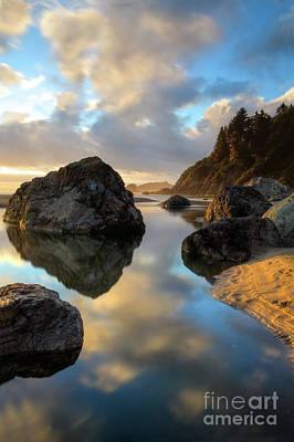 Photograph - Sunset At Moonstone by Mark Alder