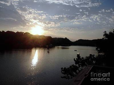 Photograph - Sunset At Occoquan by Jimmy Clark