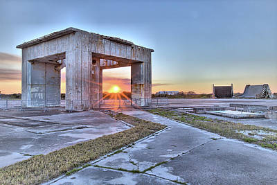 Photograph - Sunset At Pad 34 by Gordon Elwell