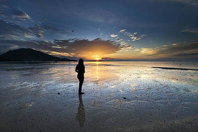 Landscape Photograph - Sunset At Phuket Island by Ng Hock How