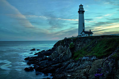Photograph - Sunset At Pigeon Point by Morgan Wright