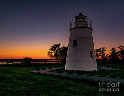 Photograph - Sunset At Piney Point by Nick Zelinsky