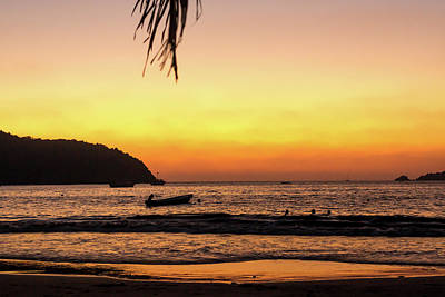 Photograph - Sunset At Playa La Ropa by Tina Ernspiker