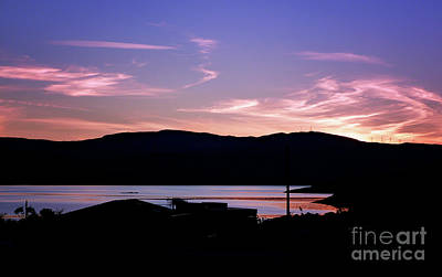 Photograph - Sunset At Portavadie Scotland by Lynn Bolt