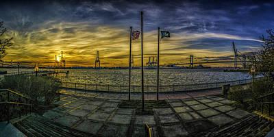 Photograph - Sunset At Proprietors Park by Nick Zelinsky
