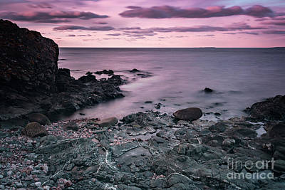 Photograph - Sunset At Rocky Beach by Sophie McAulay