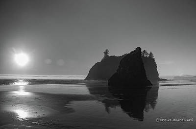 Photograph - Sunset At Ruby Beach #2 by Cassius Johnson