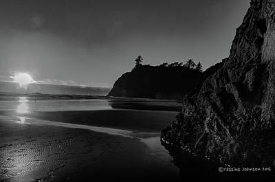 Photograph - Sunset At Ruby Beach by Cassius Johnson