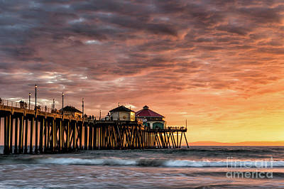 Photograph - Sunset At Ruby's by Peter Dang