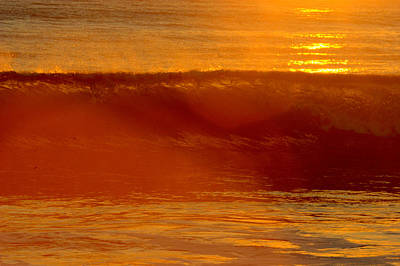 Photograph - Sunset At San Onofre by Brad Scott