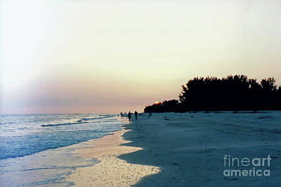 Photograph - Sunset At Sanibel by D Hackett