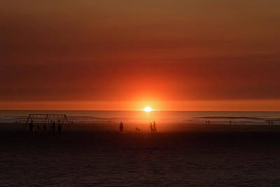 Photograph - Sunset At Seaside by PhotoWorks By Don Hoekwater