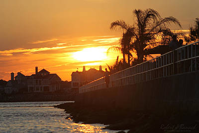 Photograph - Sunset At South 2nd St by Robert Banach